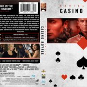 Casino Royale (2006) Blu-Ray DVD Cover
