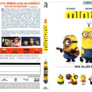 Minions (2015) Blu-Ray 3D Deutsch