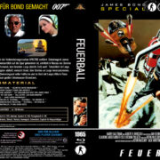 James Bond 007: Feuerball (1965) R2 Blu-Ray German
