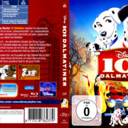 101 Dalmatiner (1961) R2 Blu-Ray German DVD Cover