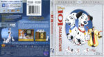 101 Dalmatians (1961) Blu-Ray DVD Cover & Label