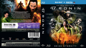 47 Ronin blu-ray dvd cover