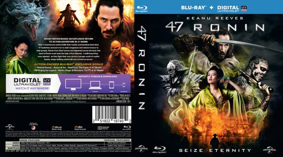 47 Ronin blu-ray dvd cover