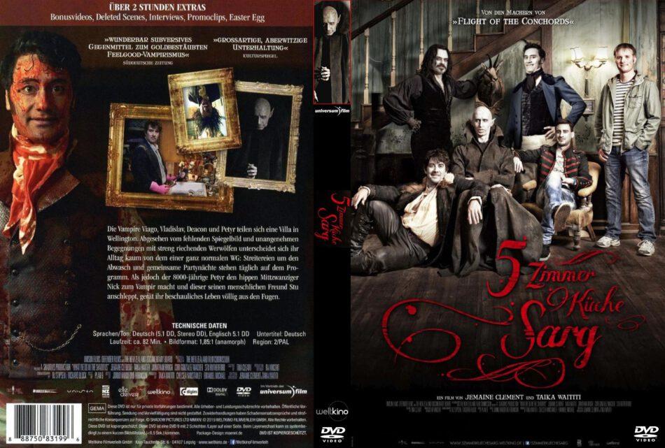 5 Zimmer Küche Sarg dvd cover (2015) R2 GERMAN