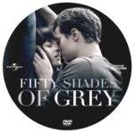 Fifty Shades of Grey (2015) R0 Custom Label