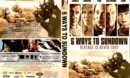 6 Ways To Sundown (2015) R1 CUSTOM DVD Cover
