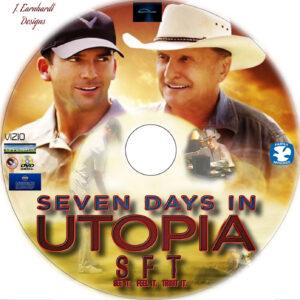 seven days in utopia dvd label
