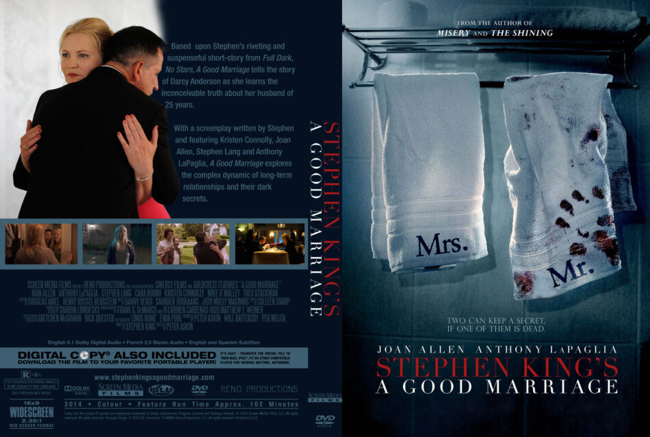 A Good Marriage Custom Cover