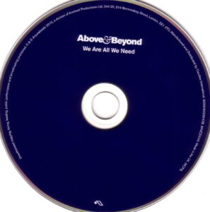 Above & Beyond - We Are All We Need - CD