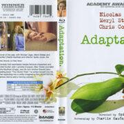 Adaptation (2002) Blu-Ray DVD Cover