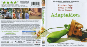 adaptation blu-ray dvd cover