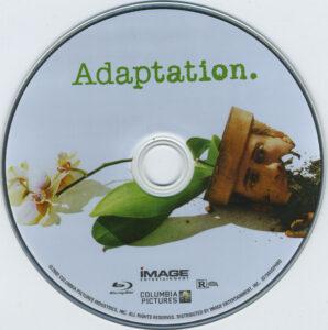 adaptation blu-ray dvd label