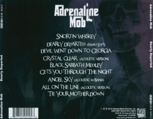 Adrenaline Mob - Dearly Departed - Back