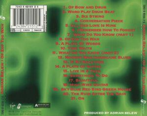 Adrian Belew - Op Zop Too Wah - Back