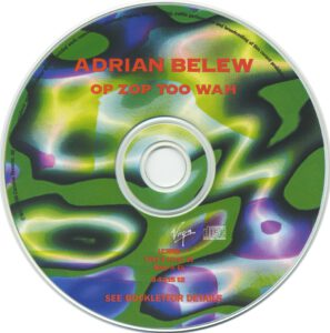 Adrian Belew - Op Zop Too Wah - CD