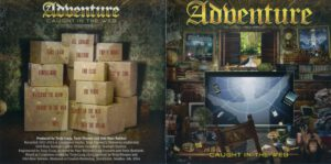 Adventure - Caught In The Web - Booklet (1-8)