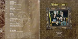 Adventure - Caught In The Web - Booklet (2-8)
