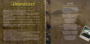 Adventure - Caught In The Web - Booklet (3-8)