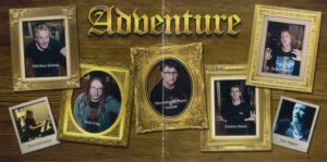 Adventure - Caught In The Web - Booklet (5-8)