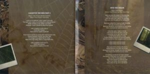 Adventure - Caught In The Web - Booklet (8-8)