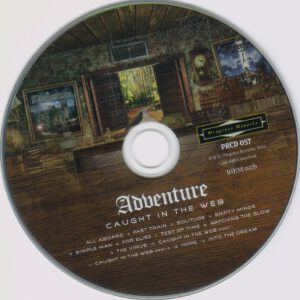 Adventure - Caught In The Web - CD