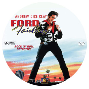Adventures of Ford Fairlane dvd label