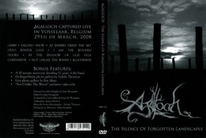 Agalloch -The Silence Of Forgotten Landscapes - Cover