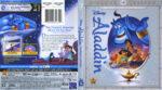 Aladdin: Diamond Edition (1992) R1 Blu-Ray DVD Cover & Label