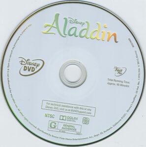 aladdin diamond edition dvd label