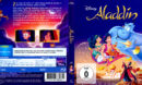 Aladdin (1992) R2 Blu-Ray German DVD Cover