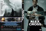Alex Cross (2012) R1 CUSTOM DVD Cover