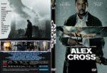 Alex Cross (2012) R1 CUSTOM DVD Cover