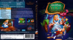 Alice im Wunderland (1951) R2 Blu-Ray German DVD Cover