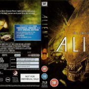 Alien 3 (1992) R2 Blu-Ray DVD Cover