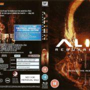 Alien: Resurrection (1997) R2 Blu-Ray DVD Cover