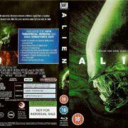 Alien (1979) R2 Blu-Ray DVD Cover