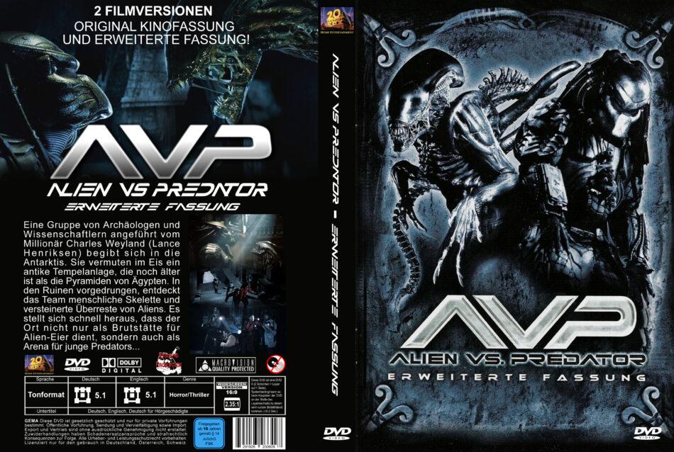 Alien Vs Predator Dvd Cover 2004 R2 Germanlien Vs Predator Dvd Cover 2004 R2 German