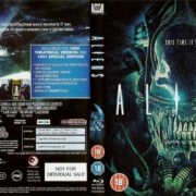 Aliens (1986) R2 Blu-Ray DVD Cover
