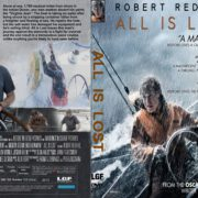 All Is Lost (2013) R1 CUSTOM DVD Cover