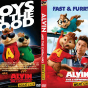 Alvin and the Chipmunks: The Road Chip (2015) Custom DVD Cover