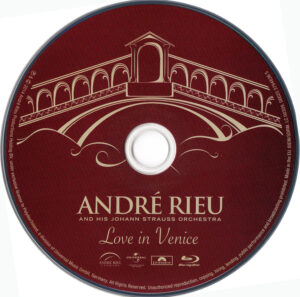 Andre Rieu - Love In Venice - DVD