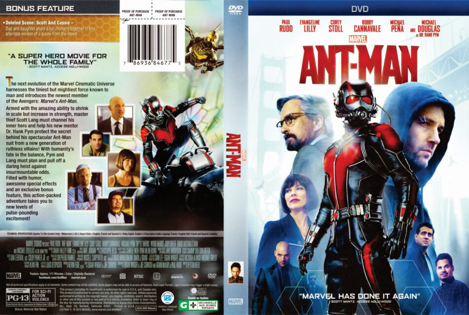 Ant Man Dvd Cover 2015 R1
