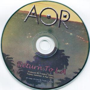AOR - Return To L.A - CD