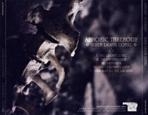 Aphonic Threnody - When Death Comes - Back