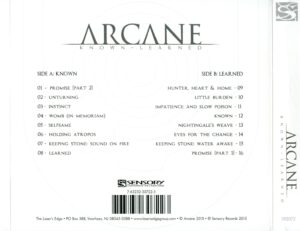 Arcane - Known - Learned - Back