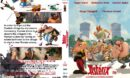 Asterix The Mansions Of The Gods (2014) Custom DVD Cover