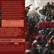 Avengers Age of Ultron (2015) R0 Custom Blu-Ray cover & Label