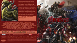 avengers age of ultron blu-ray cover