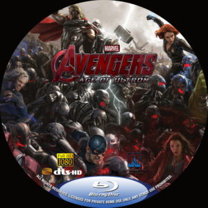Avengers Age of Ultron Custom BD Label (Pips)