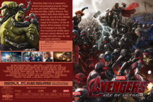 Avengers - Age Of Ultron custom Cover (Pips)